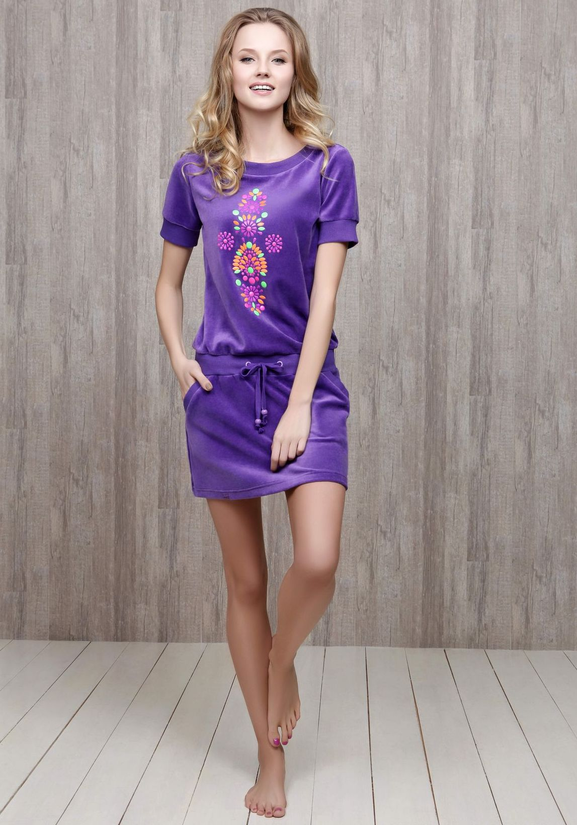 Домашняя платье туника