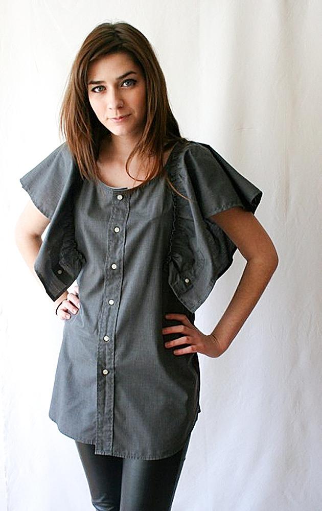 Перейти просто RO6079A хлопок короткие платья