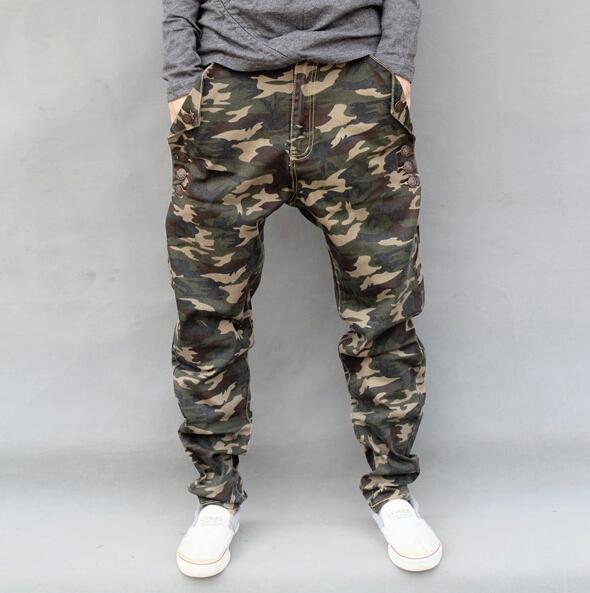 Камуфляжные джинсы мужские