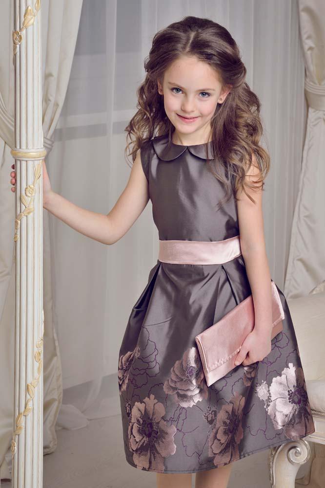 Детские нарядные и праздничные платья для девочек оптом