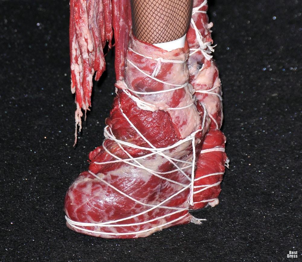 Костюм Из Мяса Леди Гага