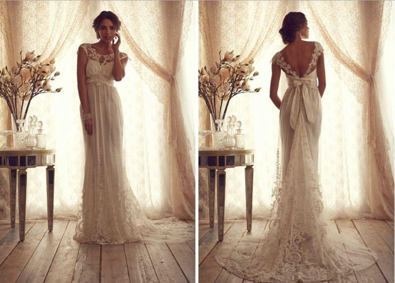 Свадебные романтические платья