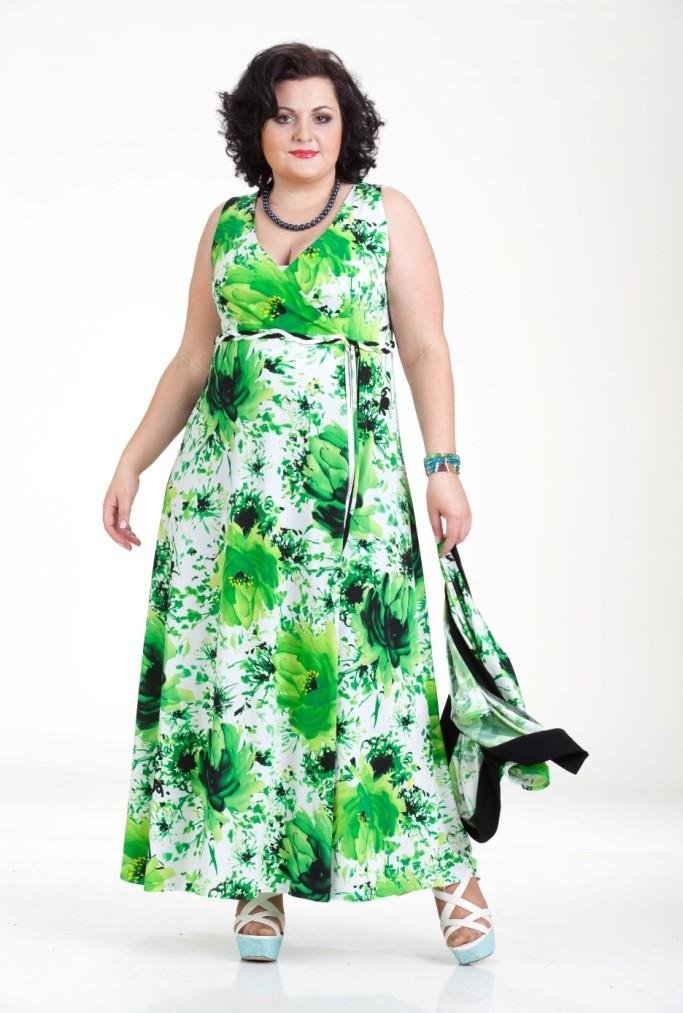 Летние платья на полных женщин и цена