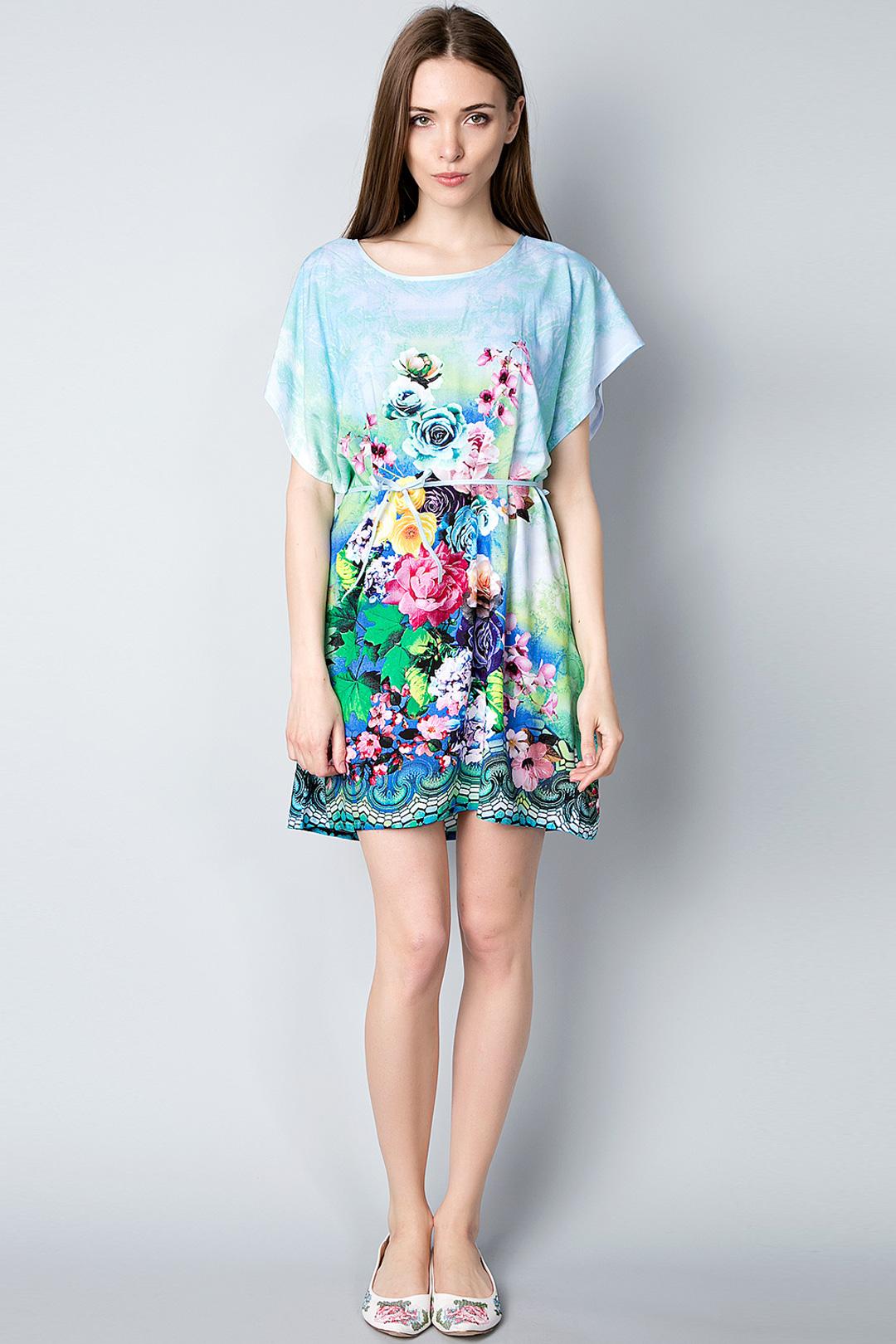 Платье туника на лето