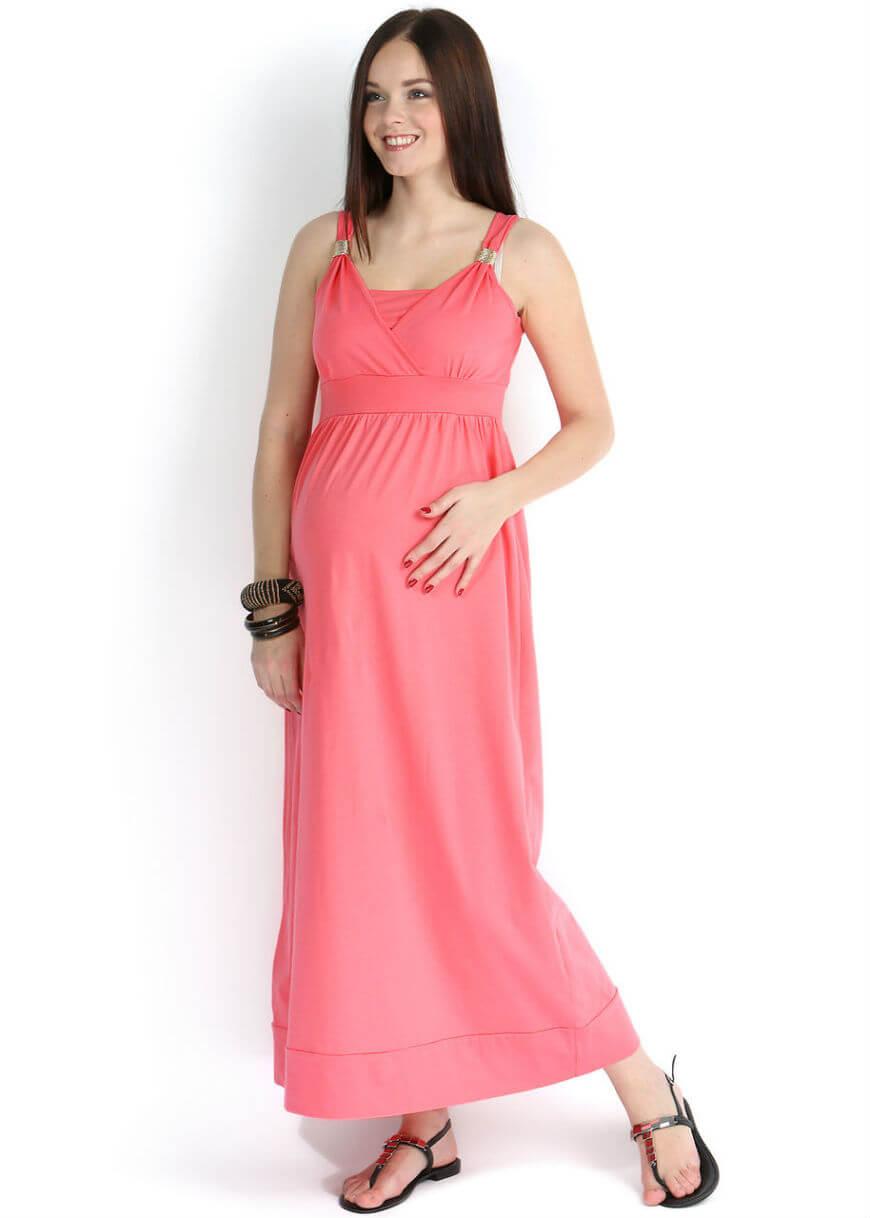 f383624bf00d49 Сарафаны шьют из материалов, которые тянутся, что позволяет носить сарафан  на разных сроках беременности.