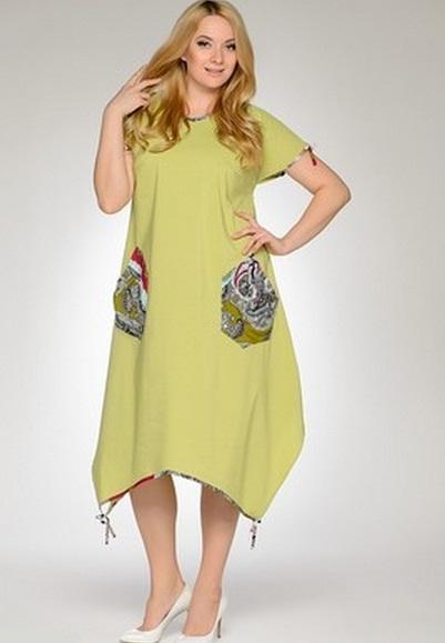 Платья сарафаны на полных женщин купить