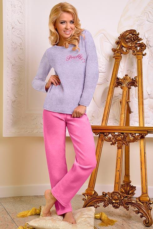 Махровая пижама (48 фото)  женская 609dd5284c3a8