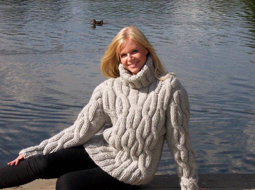 Нитки для вязания свитеров 978