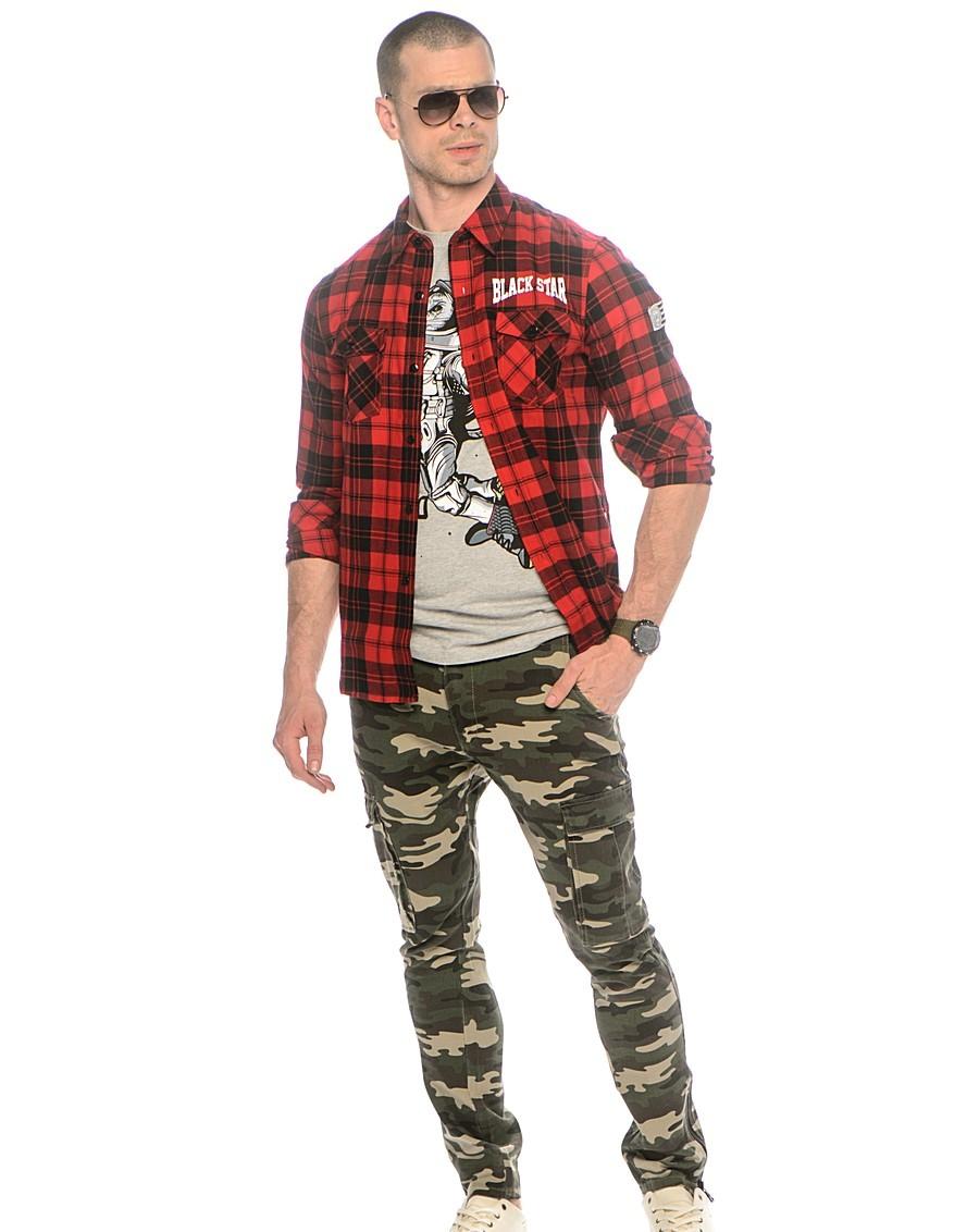 С чем носить мужские штаны милитари картинки