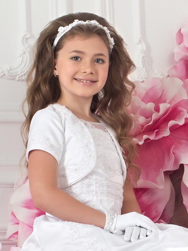 2e15ffe5f501f08 Болеро для девочки (56 фото): вязаное, меховое, нарядное, для ...