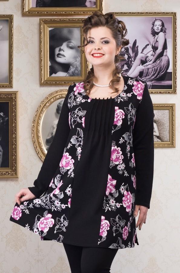 Купить платья туники больших размеров