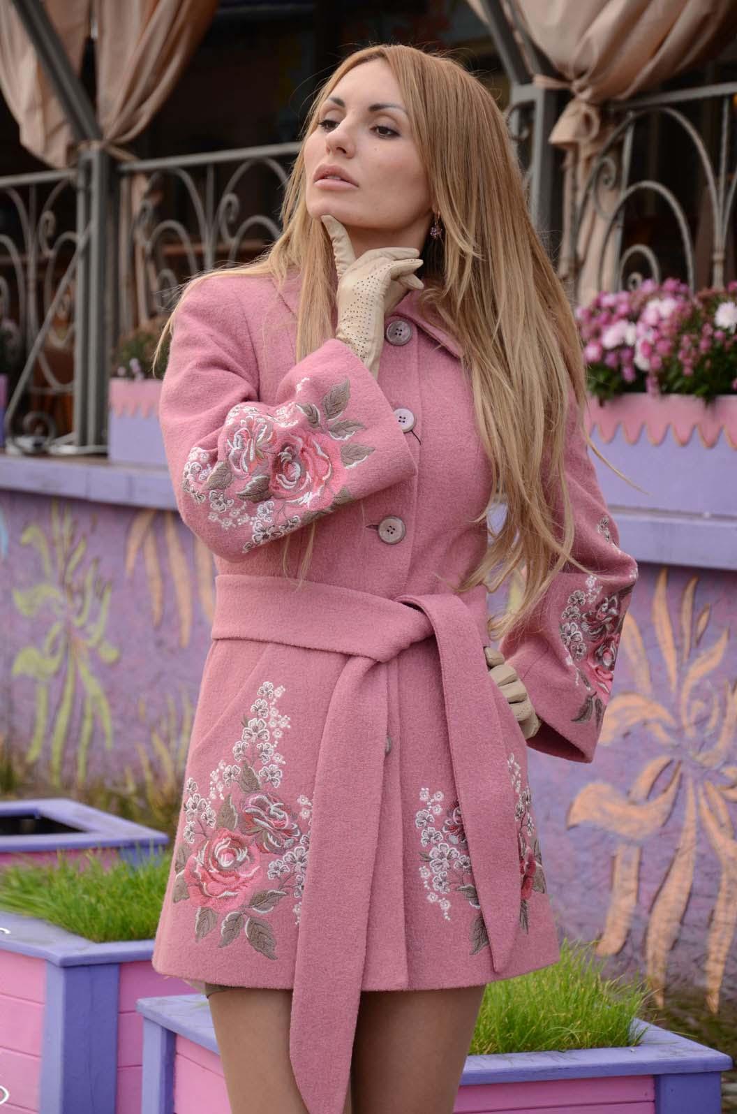 Вышивка бисером фото для пальто