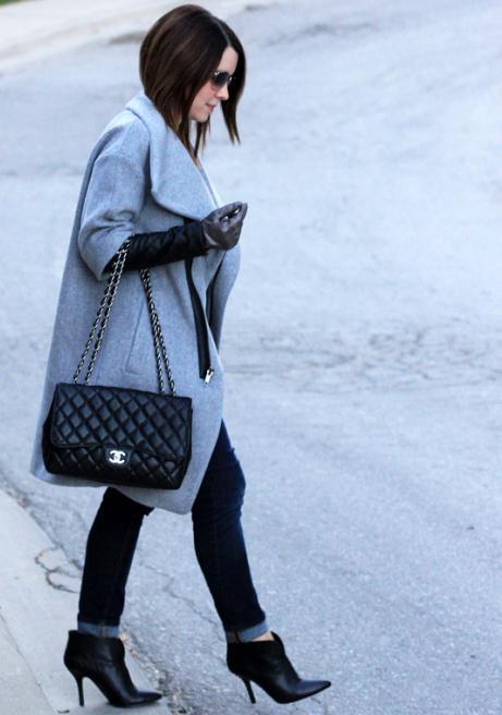 c8780c7ab50c Пальто в стиле Коко Шанель (61 фото)  с чем носить, новинки, с ...