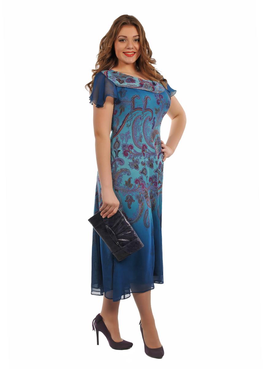 c09a6a67dff0ec6 Платья из шифона для женщин 50 лет (57 фото) 2019: нарядное ...