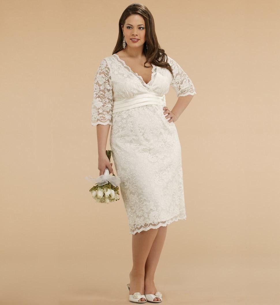 Сшить платье для венчания для полных