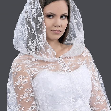 Как самой сшить платье на венчание