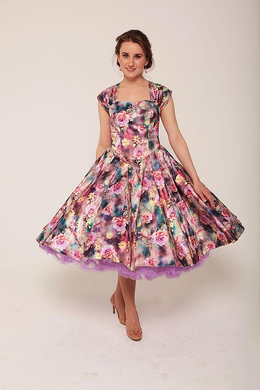 Женские платья модели 80 годов