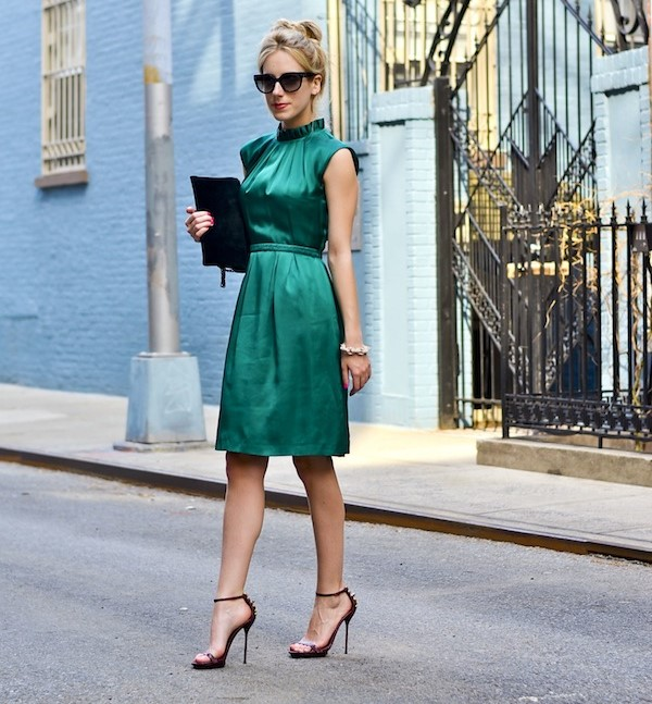 Изумрудное платье: как и