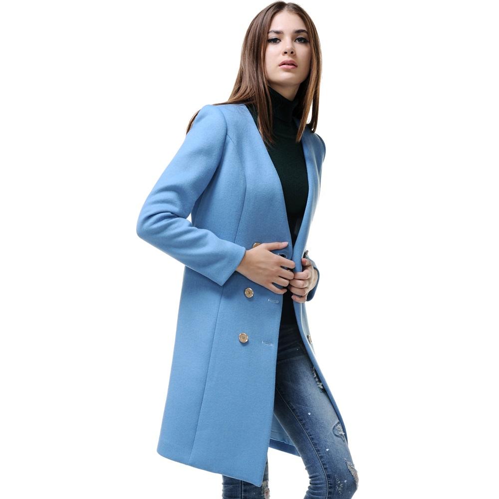 Что носить с пальто на шее