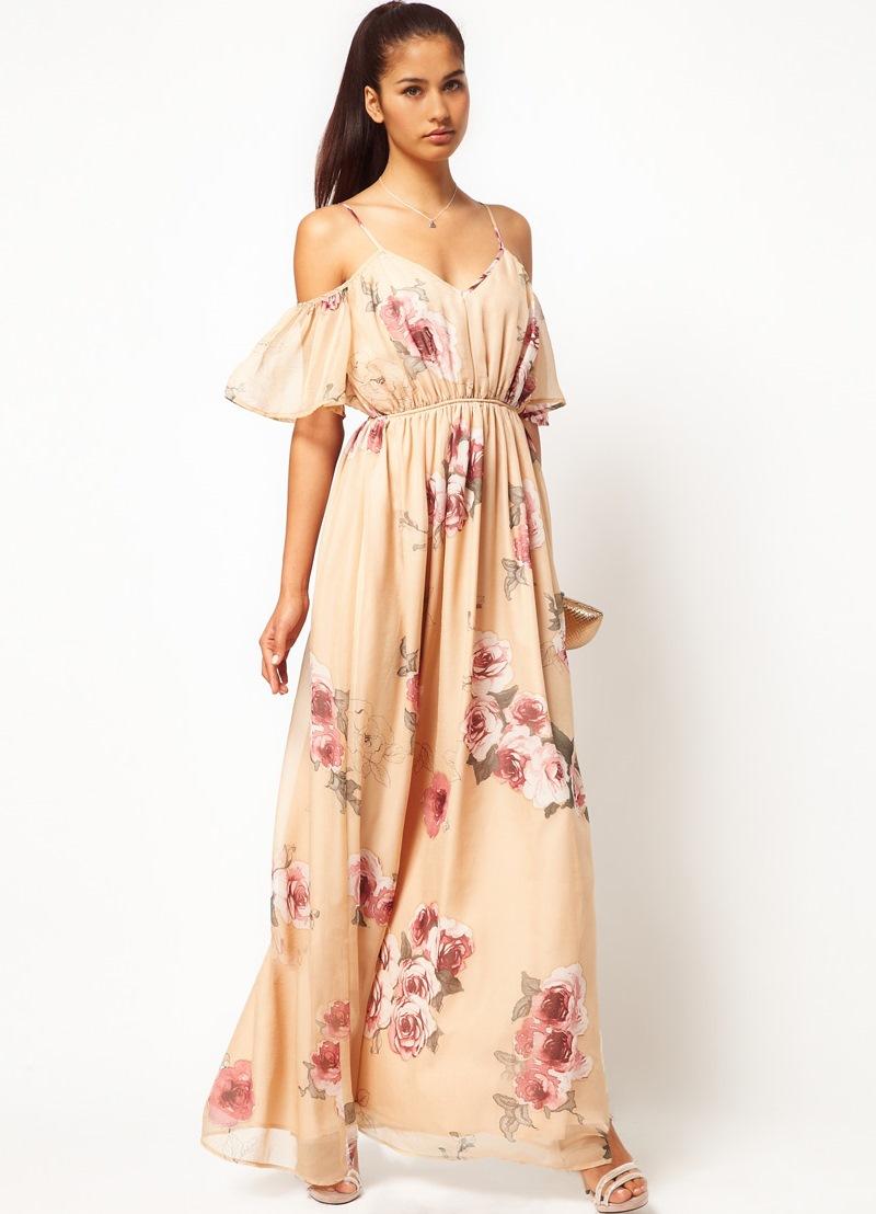 de6a7698a33 Сарафан с открытыми плечами – модный тренд сезона