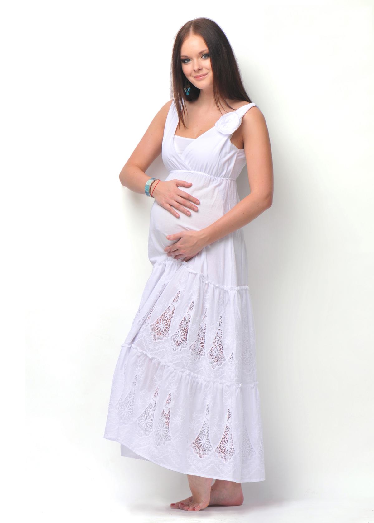 Для беременных сарафан из хлопка 4