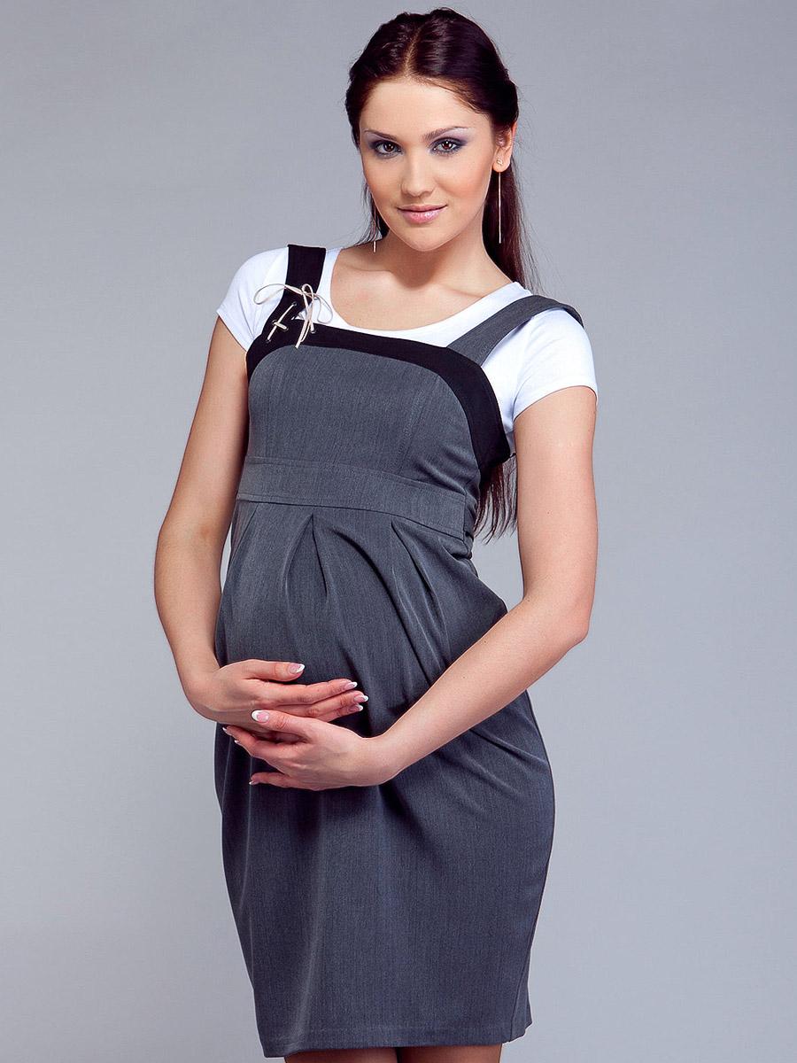 Зимние сарафаны для беременных 49