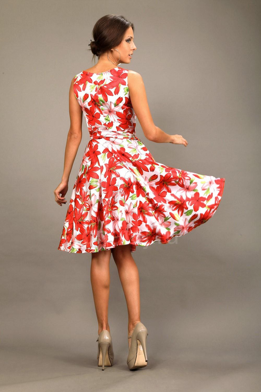 Летнее платья полусолнце