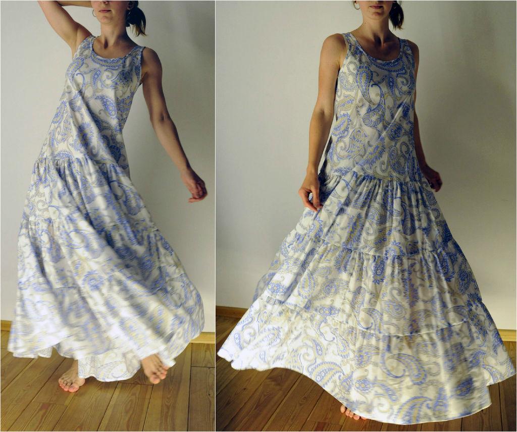 Летний сарафан или платье своими руками