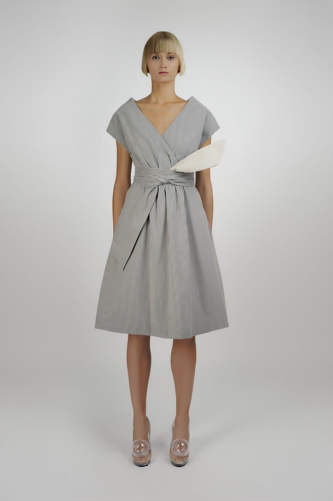Сарафан из юбки с запахом