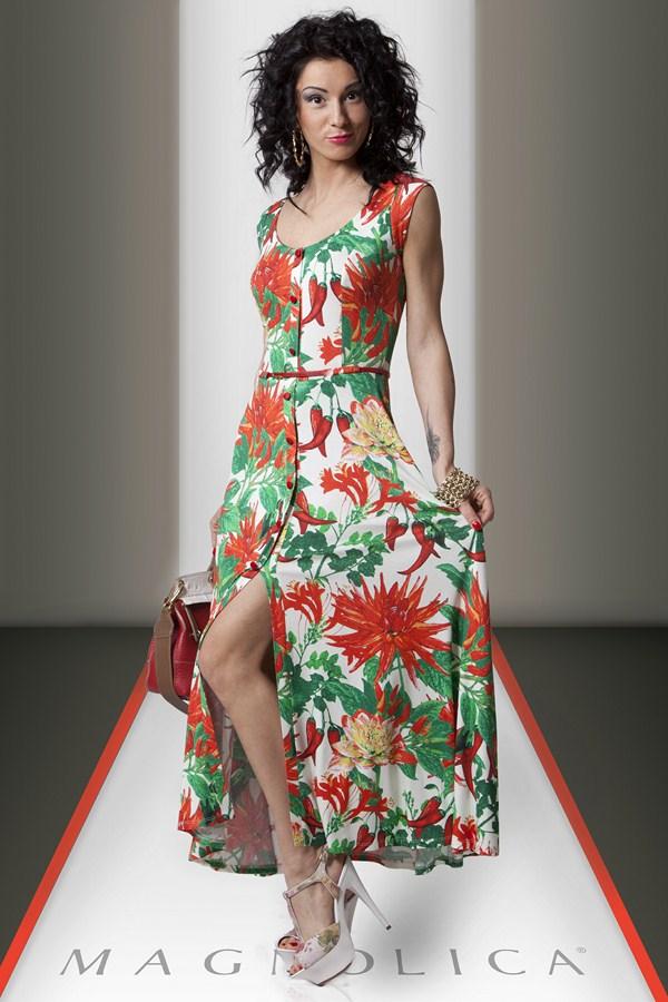 Летние платья с пуговицами