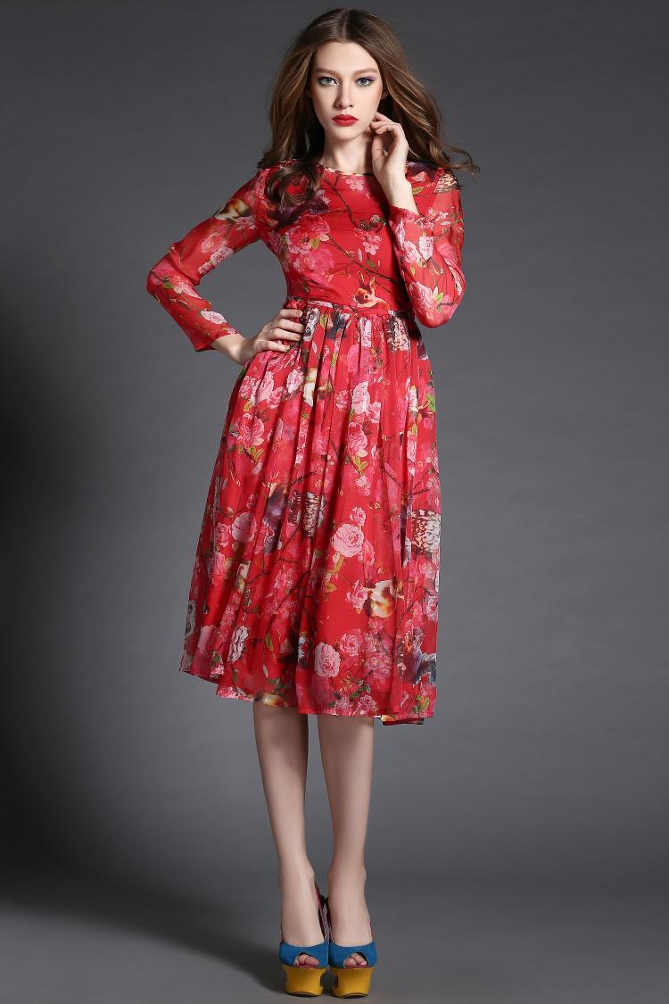 Шелковые Платья