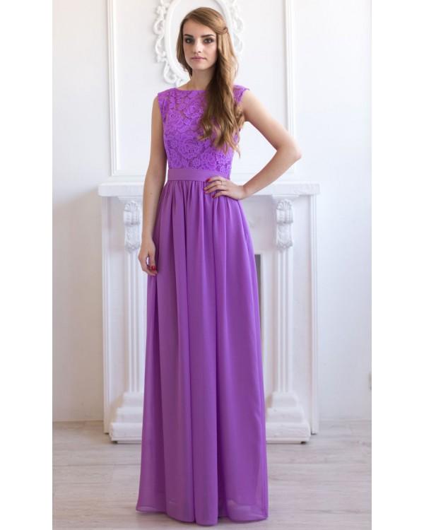 Сиреневое платье купить в новосибирске