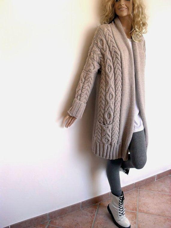 Новинки в вязании пальто