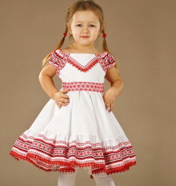 Детские платья вышиванки