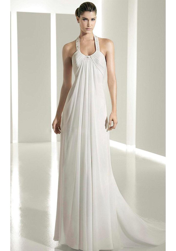 Свадебное платье-сарафан