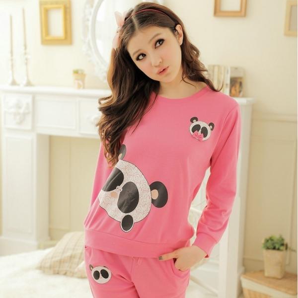 Фото розовая панда