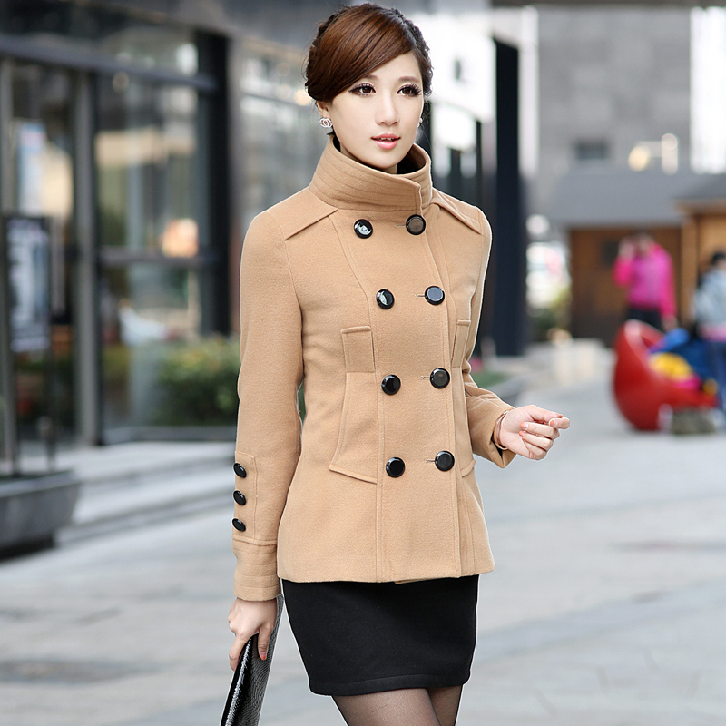 Фото женских пальто коротких