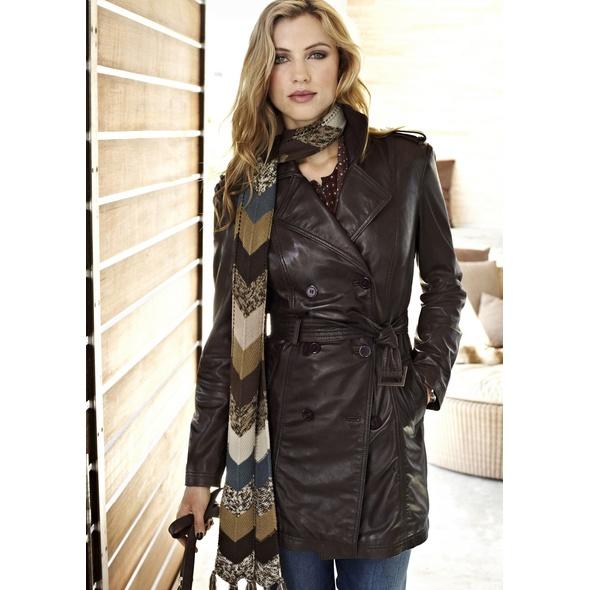 Кожаный пальто своими руками