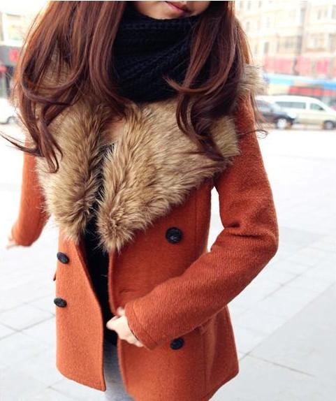 Пальто зимнее женское короткое