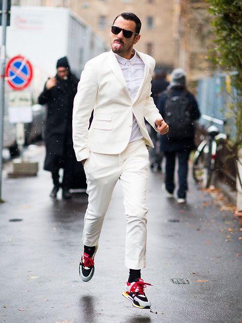 Белый мужской костюм (40 фото): черно-белый и с чем носить ... С чем Носить Белый Пиджак Мужской