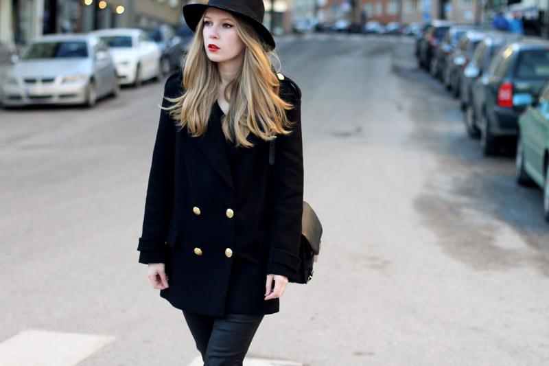 Пальто И Шляпа Фото