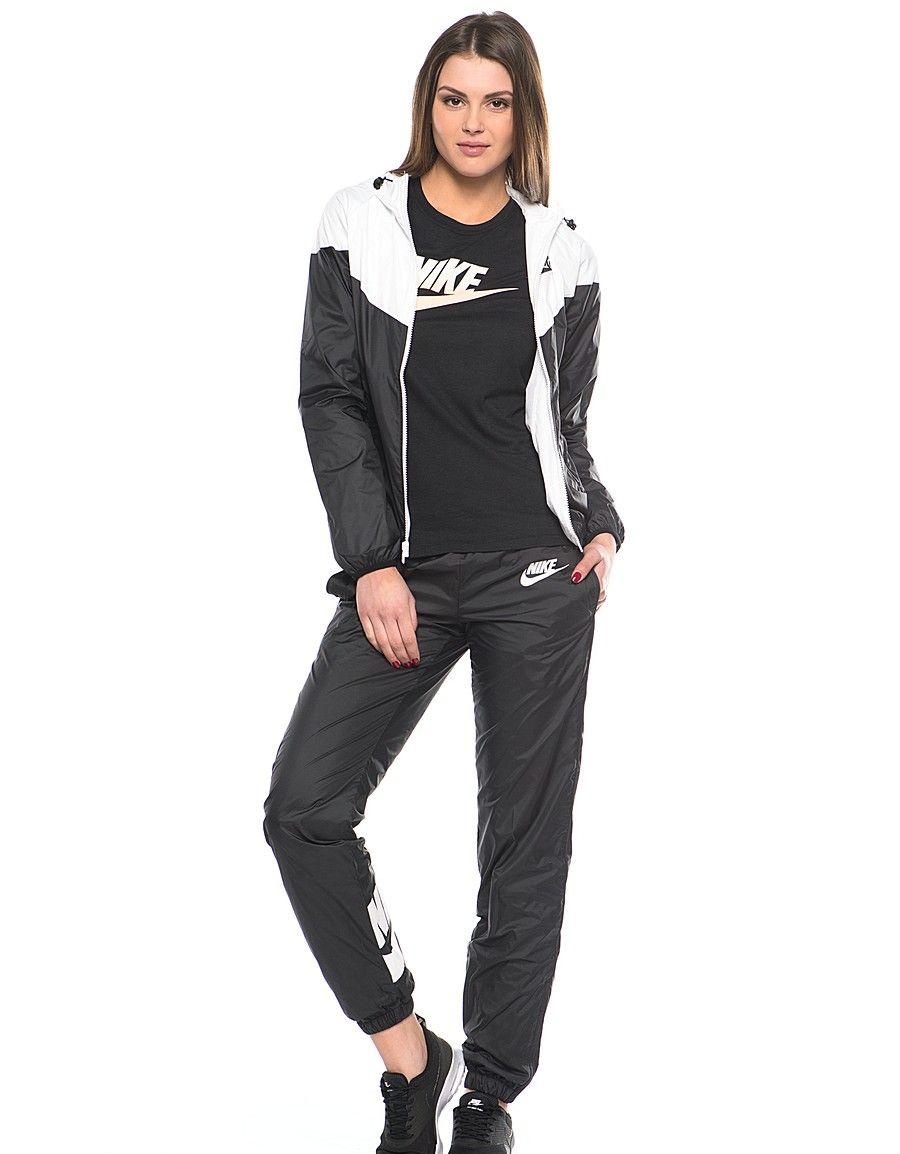 Женский спортивный костюм черный, черно-желтый и черно-белый (26 фото) a21aff816dc