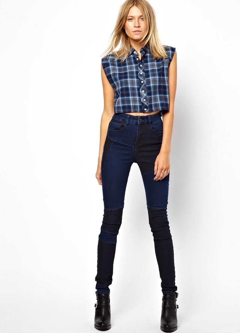 Джеггинсы с высокой талией как альтернатива джинсам и леггинсам