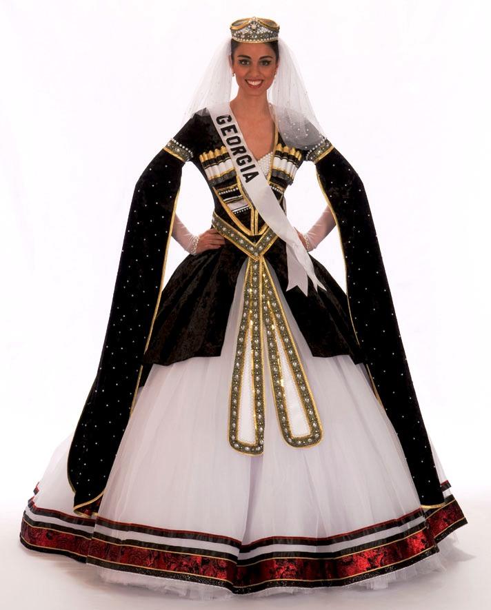 Грузинский костюм национальный (51 фото)  женский и для девочки, описание,  свадебные традиционные b8d606ffb5e
