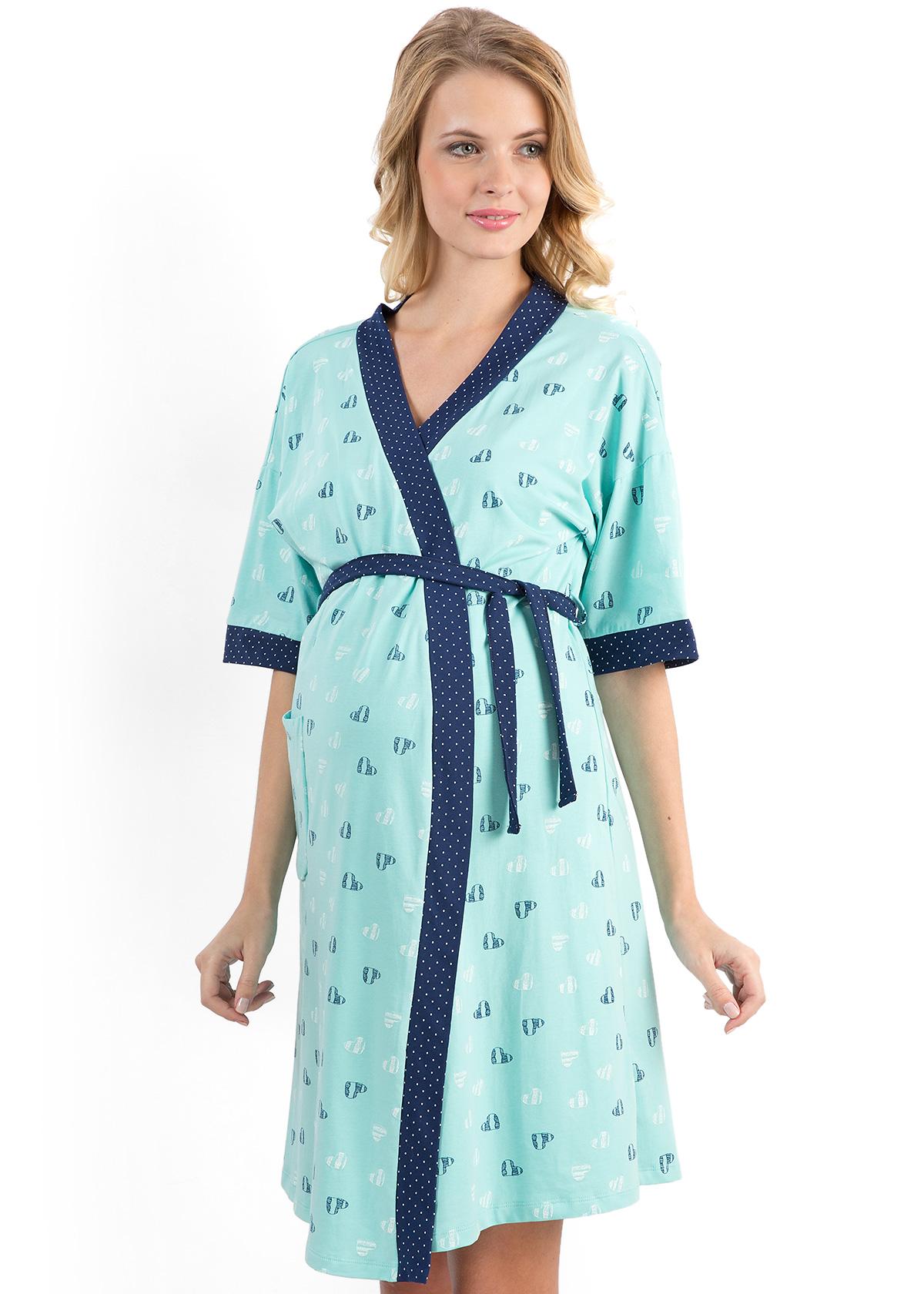 Халаты для беременных и кормящих мам 1039