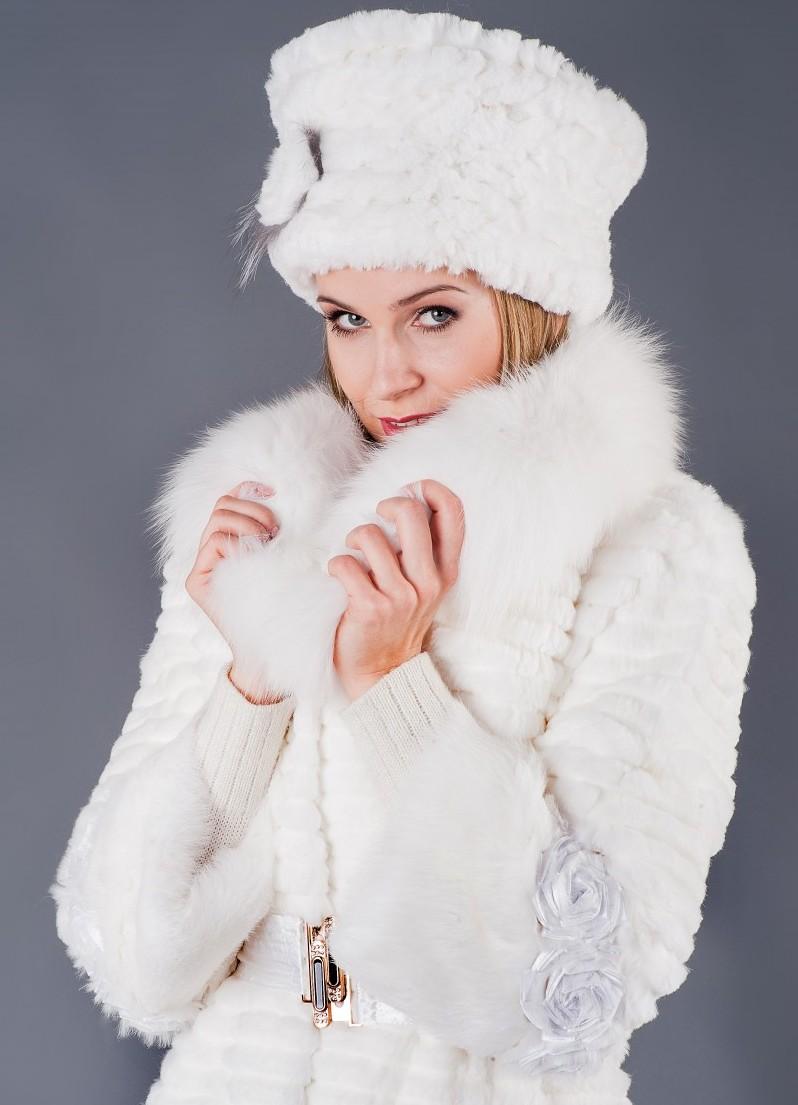 какую шапку носить с норковой шубой 37 фото вязаную модную