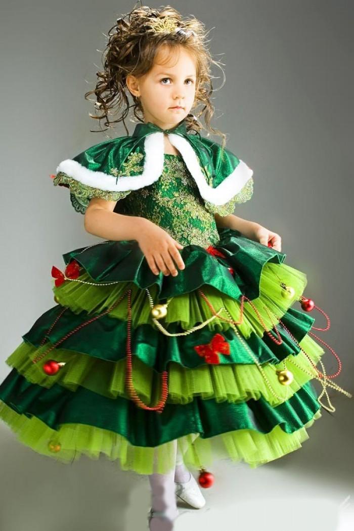 Костюм елочки для ребенка