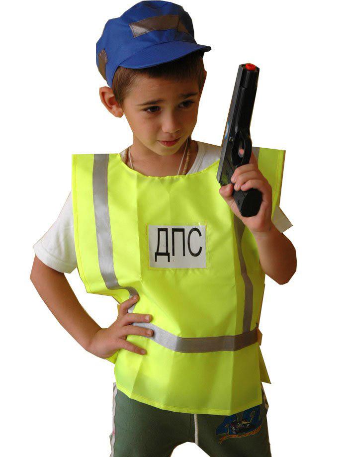 Костюм полицейского для ребенка своими руками