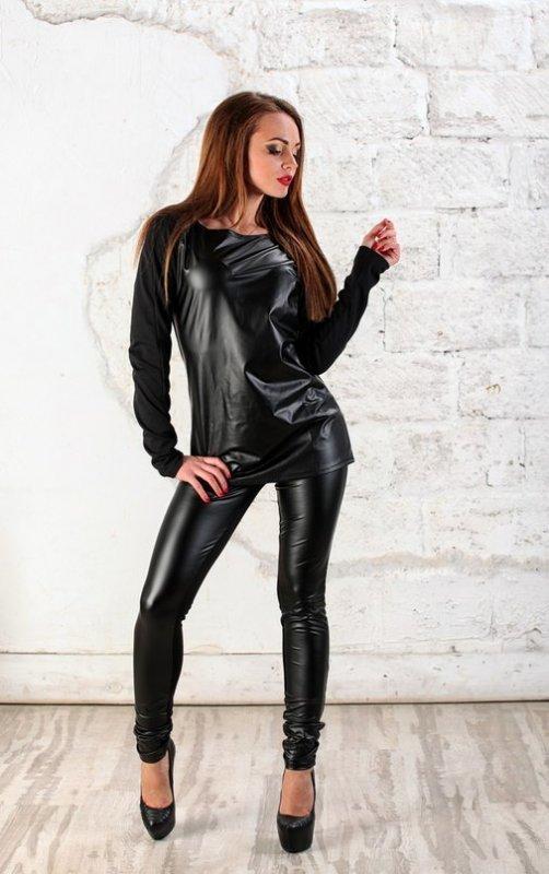 кожаные костюмы женские