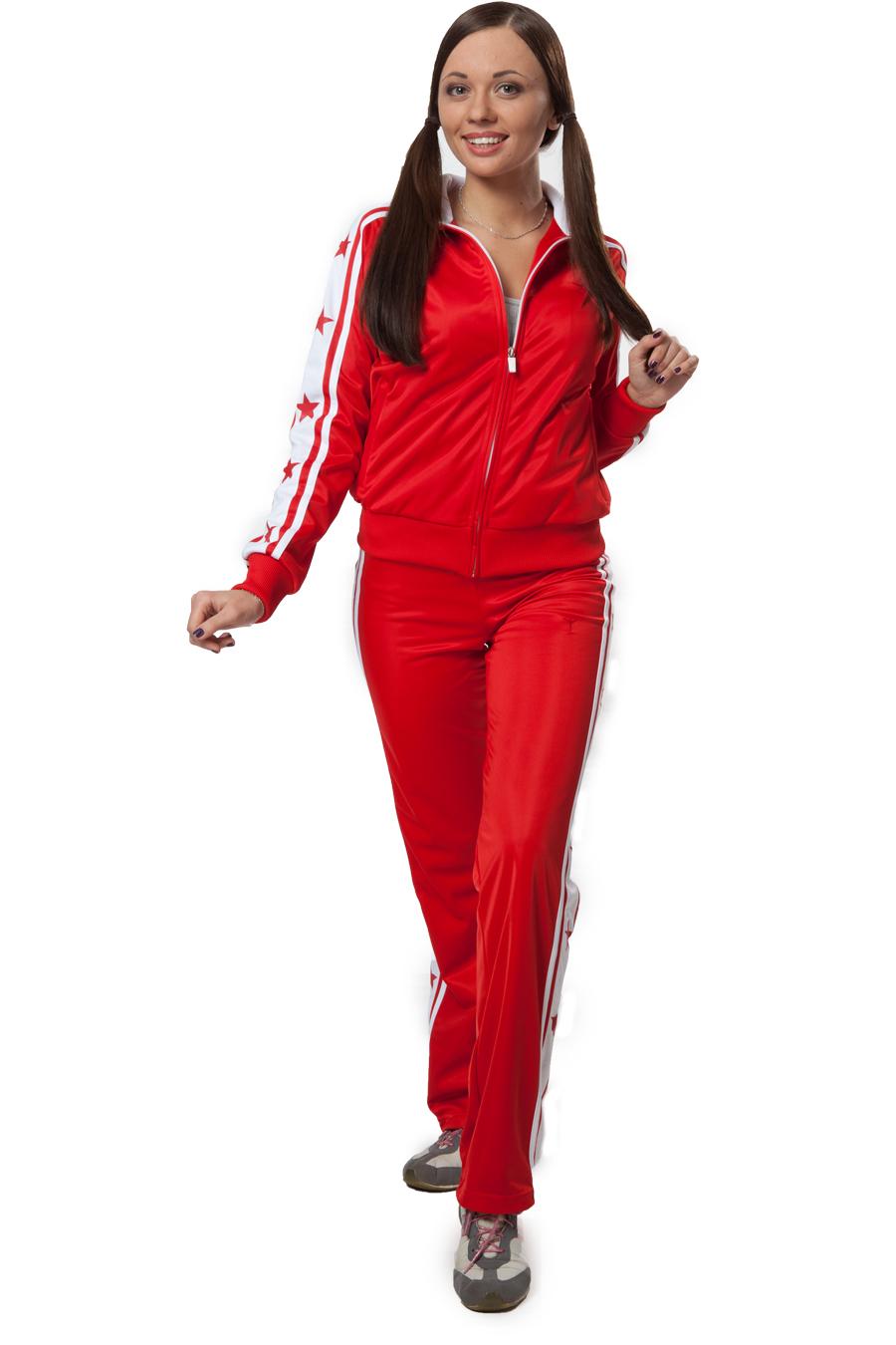 adc4c416dc17 Красные спортивные костюмы как магнит притягивают к себе внимание  окружающих. Особенностью красного цвета является его способность вызывать  противоречивые ...